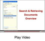 Video on our search function